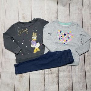 Toddler 3T sweatshirts and leggings